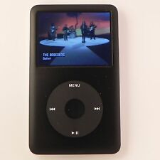 REFURBISHED Apple iPod classic THIN -ALL  BLACK(80 GB ) 6TH GEN - WARRANTY-