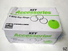 "Hy-Ko KB100 Split Key Ring 7/8"" 1000 Pack"