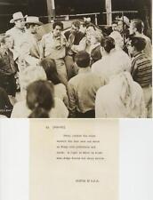 """UNTAMED YOUTH""-ORIGINAL PHOTO-CONTINUITY-MAMIE VAN DOREN-LORI NELSON-CAST"