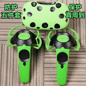 5Pcs/Set SILICONE CASE COVER SHELL for HTC VIVE CONTROLLER VR GLASSES PROTECTIVE