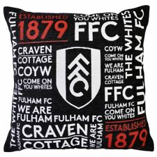 Fulham Football Club Luxury Woven Square Cushion