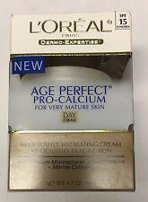 L'OREAL AGE PERFECT PRO-CALCIUM DAY CREAM 1.7oz BRAND NEW