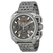 Diesel Men's BAMF Chronograph Gunmetal Ion Plated Stainless Steel  Watch DZ7344