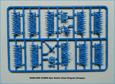 WARLORD GAMES Epic Battles Grappe Union Brigade Figurines 15mm plastique