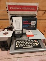 Vintage Radio Shack TRS-80 Color Computer 26-3022A w/ Adapter UNTESTED