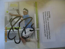 MEN'S TENNIS RARE AUTOGRAPHED TRADING CARD BY ROGER FEDERER COA