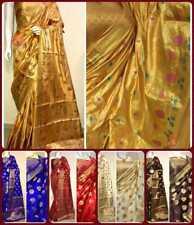 Elegant Sari Silk Festival Traditional Designer Wedding Party wear Indian Saree