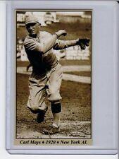 Carl Mays threw pitch that killed Ray Chapman Tobacco Road series #21
