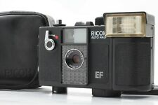 【EXC+5 AS IS】Ricoh Auto Half EF BLACK 35mm Half Frame Camera 25mm f2.8From JAPAN