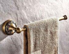 Antique Brass Wall Mounted Bathroom Single Towel Bar Rack Holder fba481