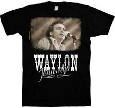 WAYLON JENNINGS - The Outlaw T SHIRT S-M-L-XL-2XL New Official Hi Fidelity Merch