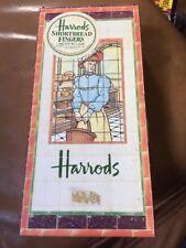 Vintage Harrods Shortbread Fingers Tin 1984