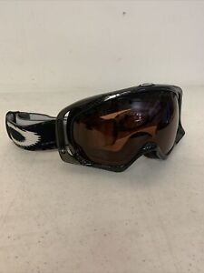 OAKLEY® SNOW GOGGLES SNOWBOARD SKI Black With Brown Lens