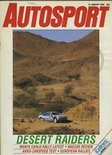 Autosport Jan 21st 1988 *European Rallying Review*