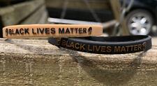 Black Lives Matter Silicone Wrist Band Bracelet Wristband @MoxsBandz