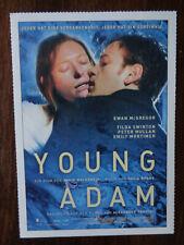 Filmplakatkarte / moviepostercard  Young Adam  Ewan McGregor
