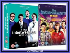 THE INBETWEENERS COMPLETE SERIES 1 2 & 3 PLUS THE MOVIE *BRAND NEW DVD**