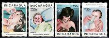SELLOS TEMA MEDICINA. NICARAGUA  1987 1463+A-1185/87 VACUNACION 2v.