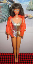 """1969 VTG.DRAMATIC LIVING """"BARBIE"""" DOLL~HTF BROWNETTE~BEAUTIFUL+ARTICULATED~1116~"""