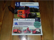 KAMAZ 5325 T1829 4x2 Tractor Truck LKW Camion brochure prospekt catalogue