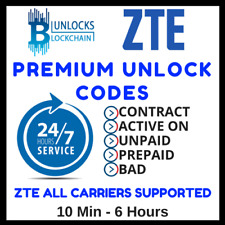 Remote Unlock code Unlocking service for Boost Australia Tango ZTE B790