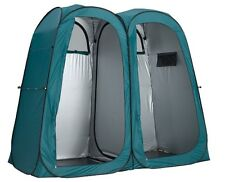 OZTRAIL ENSUITE DOUBLE SHOWER TENT DUO POP UP  CHANGE ROOM CAMPING TOILET