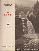 Livre ancien le Jura  Marguerite Bourcet book