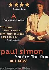 Paul Simon 2000 You'Re The One Large Promo Poster Original