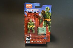 "Masters of the Universe Moss Man Mega Construx MISP 2020 2"" Pro Builders"