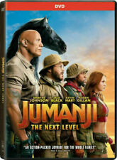 Jumanji 2 The Next Level (DVD, 2019 Dwayne Johnson) Brand New Ships Today