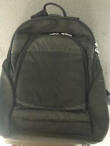 Black Toshiba Laptop Backpack