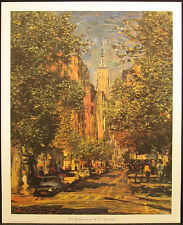 "Stepanyants ""An Impression of 5th Avenue"" Signed & Numbered Art Print, New York"