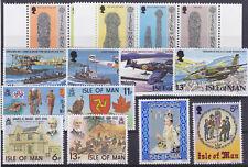 I O M 1978 Commemorative Sets UM SG107-10,132-143 Cat £4.05