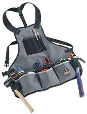 Canvas Tool Storage Apron Contractors Handyman Rig Pockets Belt Organizer Holder