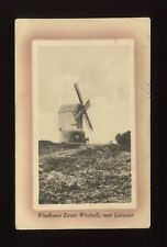 Leicestershire Leics WOODHOUSE EAVES Windmill used c1915 PPC
