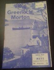 Morton V Metz amigable programa 18/11/64
