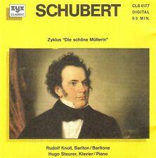 """Schubert - Zyklus """"Die Schöne Müllerin"""" (CD 19??) Rudolf Knoll, Hugo Steurer"""