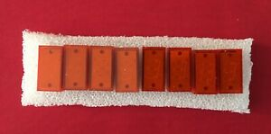 Vintage 11 Pin LED 7 segment Light 18m x 10mm x 10 Units