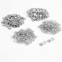 9.5mm Snap Fasteners Press Studs Poppers Nickel Free Brass Silver Clothes Craft