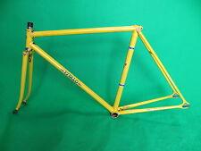 Vivalo Yellow NJS Approved Keirin Frame Track Bike Fixed Gear Pista