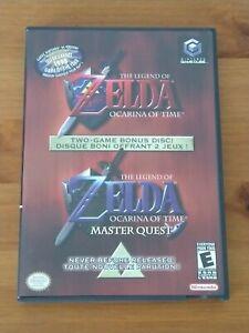 The Legend Of Zelda : Ocarina Of Time & Master Quest Nintendo GameCube (US NTSC)