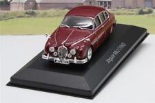 Jaguar MkII 1/43 Maroon Diecast Model Christmas Present Gift Dad Model Boxed
