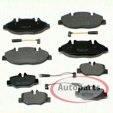 Mercedes Benz Vito [W639] - Pastillas Freno de Cable Advertencia para Delante
