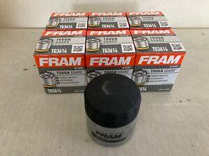 SIX(6) Fram Tough Guard TG3614 Oil Filter CASE fits PH3614 PH2835 51348 L10241