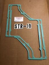 Plenum Gaskets 2 pack that fits the  EDELBROCK STR-10 iCROSSRAM for sb CHEVY