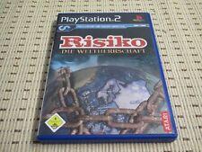 Rischio la supremazia mondiale per PlayStation 2 ps2 PS 2 * OVP *