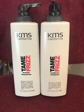 KMS california TAME FRIZZ shampoo & conditioner  25.3 oz each WITH PUMP = =-=-=-