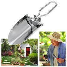 Stainless Steel Garden Tools Folding Portable Hand Shovel Garden Outdoor Camping