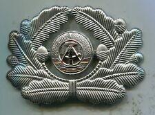 East German DDR Officer Visor Hat Cap Insignia Badge