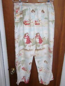 PIN-UP GIRLS sexy lrg pajama pants Glamour Photography lounge Farmer's Daughter